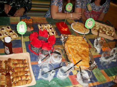 Cena especial halloween laurual receta canal cocina for Cenas frias canal cocina