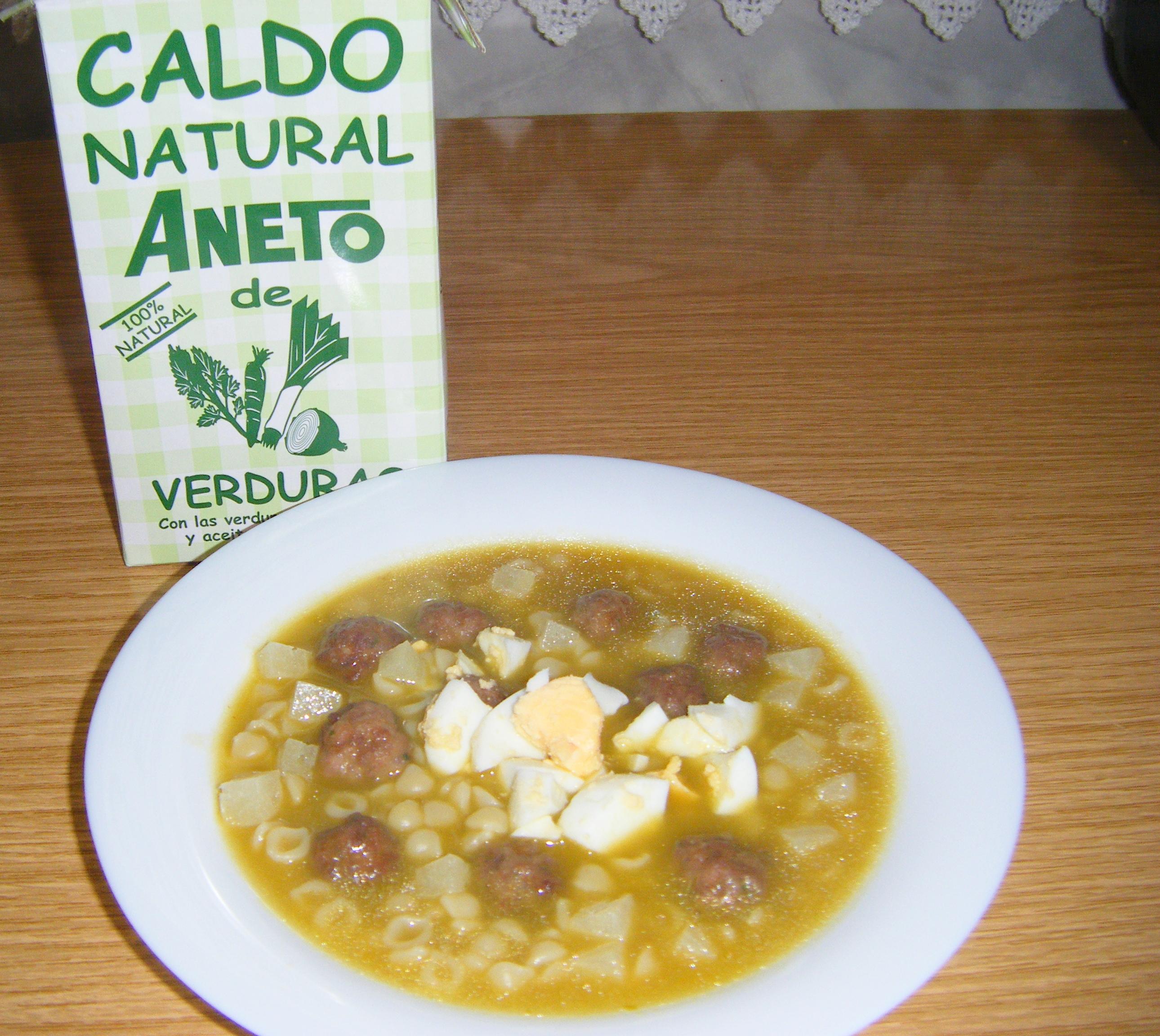 Como Cocinar Trigo | Sopa De Semola De Trigo Con Albondigas Maise Receta Canal Cocina