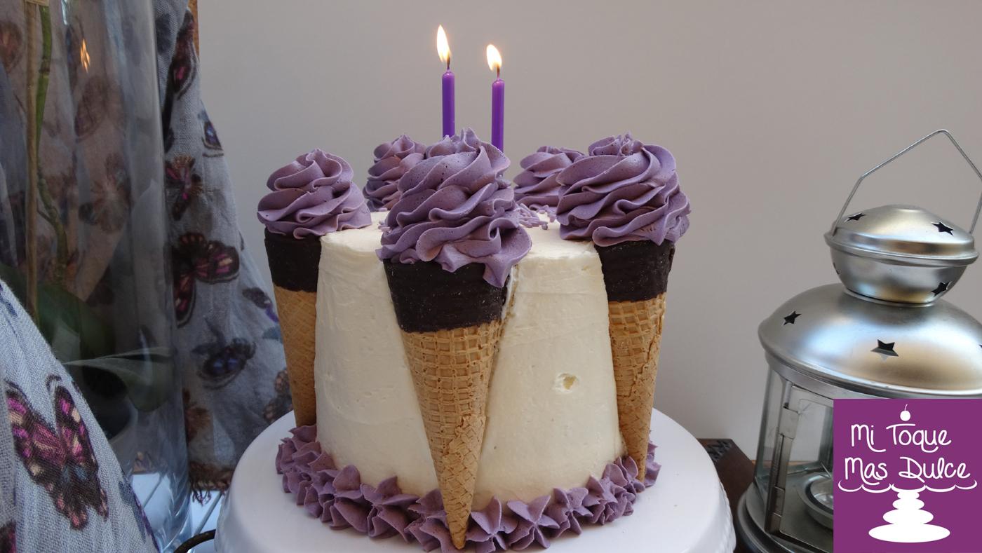 interesting tarta de cumpleaos con helados receta canal cocina