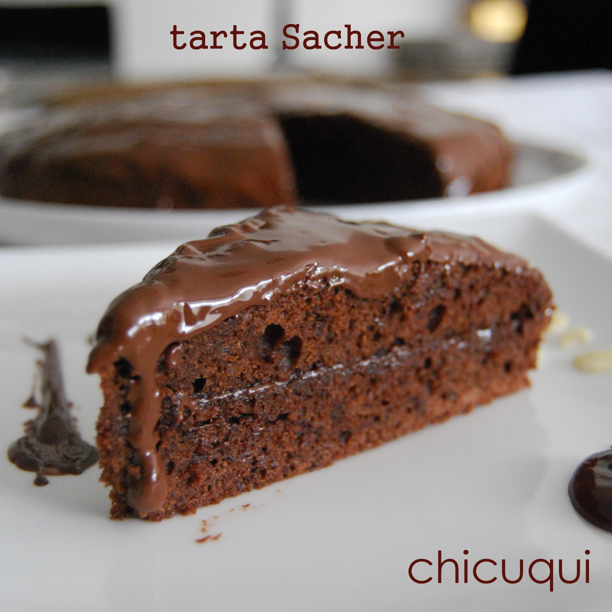 Tarta Sacher Sin Gluten Y Sin Lactosa