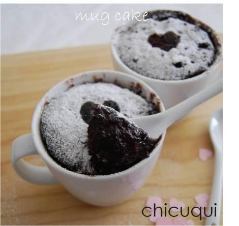Mug Cake De Chocolate Con Chocolate Y Sin Gluten