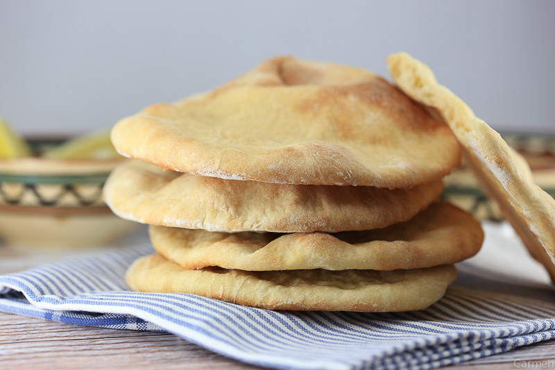 Pan de pita carmen 2tazas receta canal cocina for Canal cocina en directo