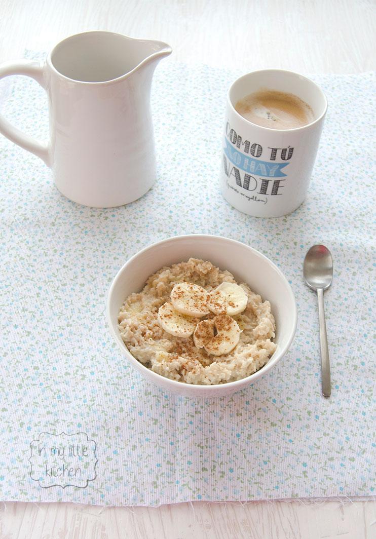 Porridge Con Platano Y Canela Fit Receta Canal Cocina