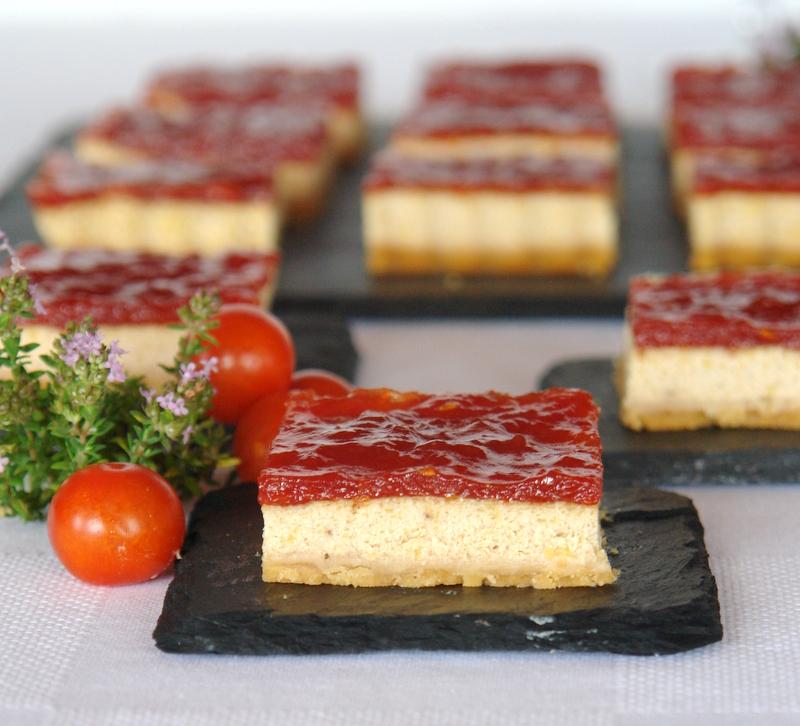 Cheesecake de foie con mermelada de tomate menorcana for Canal cocina tapas