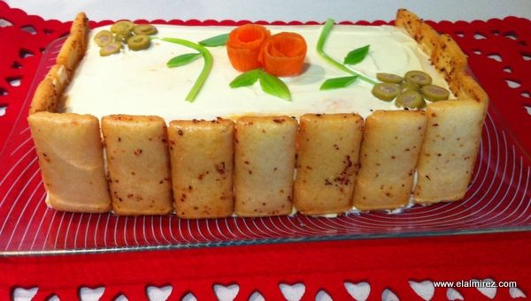 Pastel Salado De Pan De Molde Receta Canal Cocina