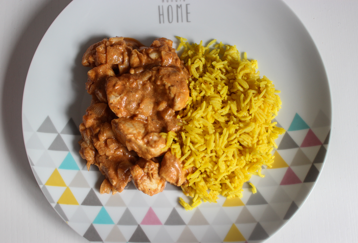 Mi versión del pollo tikka masala con arroz basmati - oieryus ...