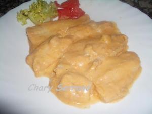 Filetes de merluza con salsa de pimiento rojo concurso 22 for Cocinar filetes de merluza