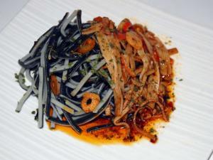 Como Cocinar Angulas | Angulas De Trigo Con Surimi Al Ajo Aji Menda Receta Canal Cocina