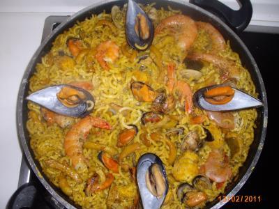 Fideua de marisco soniaelena receta canal cocina - Youtube fideua de marisco ...
