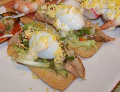 Montadito de huevo de codorn z concurso por el huevo for Canal cocina tapas