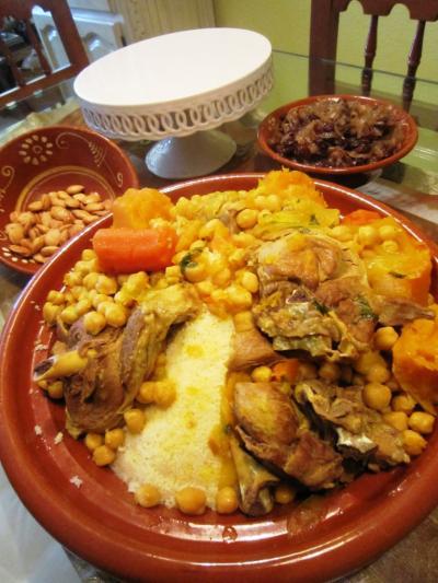Cusc s de cordero con pasas y almendras al modo - Cordero estilo marroqui ...