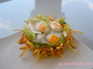 Huevos De Codorniz En Su Nido Concurso Huevo Frito