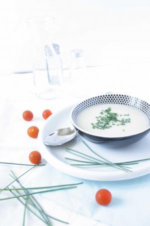 Crema fr a de esp rragos blancos para el concurso cocina for Canal cocina concursos