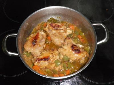 Contramuslos De Pollo En Salsa Receta Canal Cocina