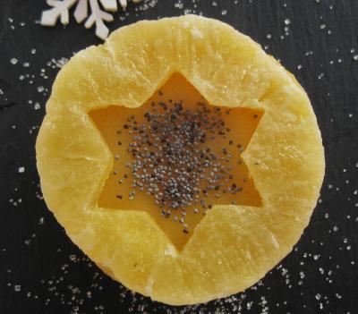Gelatina Navideña De Frutas Con Agar Agar